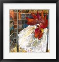 Framed Rooster 2