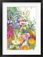 Framed Fruit Bouquet