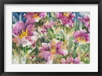 Framed Peony Personalities