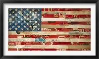 Framed May of '76, Stitch by Stitch
