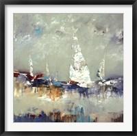 Framed Sailing Away