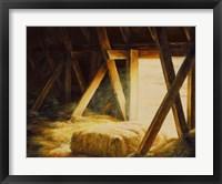Framed Hay Loft