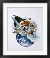 Framed Marine World