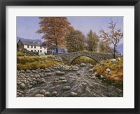 Framed Old Packhorse Bridge