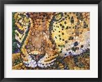 Framed Costa Jaguar