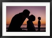 Framed Mother's Kiss