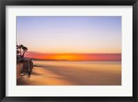 Framed Baltimore Sunrise