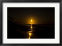 Framed Golden Sunrise
