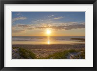 Framed Pierpont Sunset