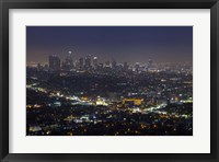 Framed LA Skyline