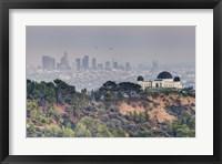 Framed Griffith Over LA