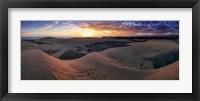 Framed Panorama Maspalomas Dunes
