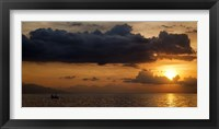 Framed Panorama Sunset No 1