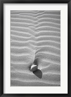 Framed Sand Wind and Light No 2 BW