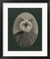 Framed Cat Series #1