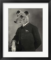 Dog Series #6 Framed Print