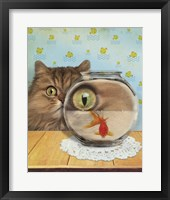 Cat Series #3 Framed Print