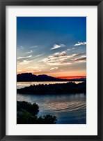 Framed Havasu Sunset II