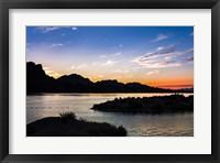 Framed Havasu Sunset I