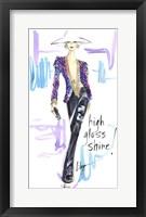 Framed High Gloss Shine
