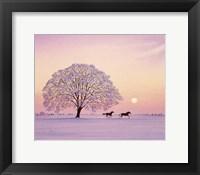 Framed Winter's Evening