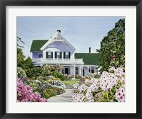 Framed Isabel's Garden