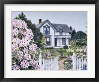 Framed Espey House