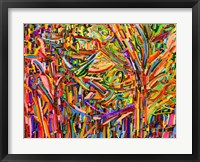 Framed Evergreens
