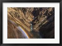 Framed Brink of Lower Falls