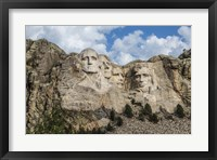 Framed Mount Rushmore In Day