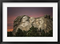 Framed Mount Rushmore