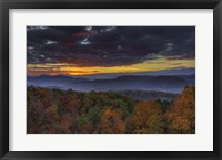 Framed Smokies Sunrise