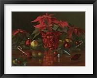 Framed Christmas Table