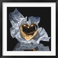 Framed Heart Of Gold