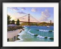 Framed Golden Gate 1940