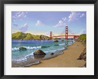 Framed Golden Gate, CA 1940
