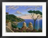 Framed Villa Rufolo - Italy