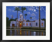 Framed Boca Raton Town Hall, FL