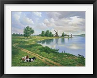 Framed Dutch Landscape
