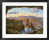 Framed Island In The Sky - Canyonlands