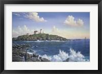 Framed Cape Neddick - Maine
