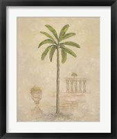Framed Palm With Architecture 3