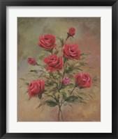 Floral H Framed Print