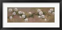 Floral J Framed Print