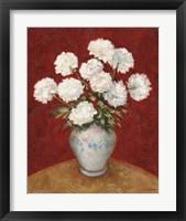 Floral M Framed Print