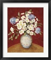 Floral P Framed Print