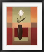 Black Vase 1 Framed Print