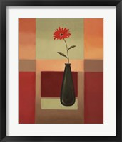 Black Vase 4 Framed Print