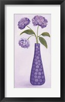 Purple Vase 1 Framed Print