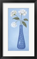 Blue Vase 1 Framed Print